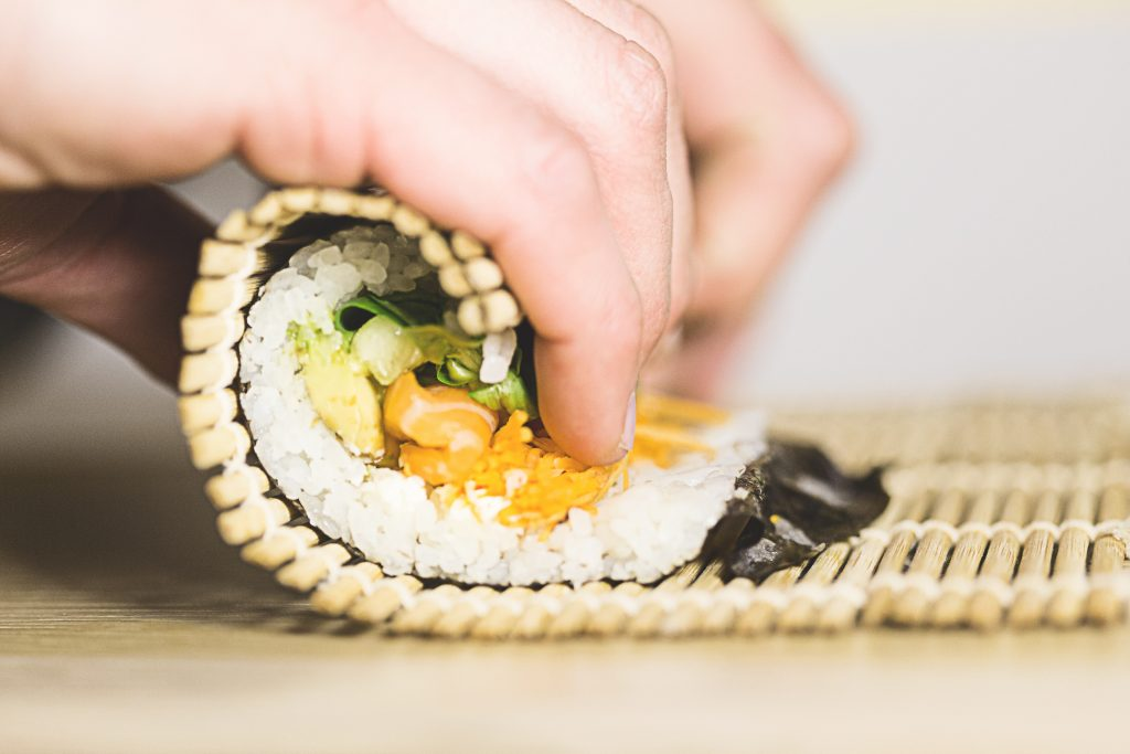 Sushi roll giapponese